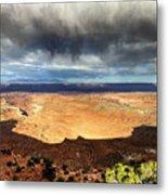 1174 Brewing Desert Storm Metal Print