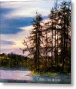 Landscape Nature Scene Metal Print
