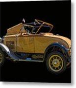 1930 Model A Ford Convertible Metal Print