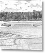11th Hole - Trump National Golf Club Metal Print