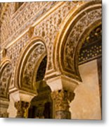Alcazar Of Seville - Seville Spain Metal Print