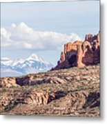 Arches National Park  Moab  Utah  Usa Metal Print