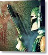 Jedi Star Wars Art Metal Print