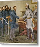 Lees Surrender 1865 Metal Print by Granger