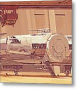 Movie Star Wars Poster Metal Print