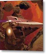 Movies Star Wars Poster Metal Print