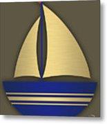 Nautical Collection Metal Print