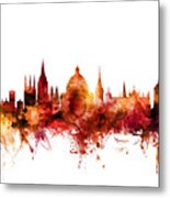 Oxford England Skyline Metal Print