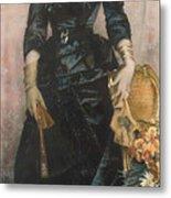Portrait Of A Lady  Metal Print