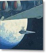 Saga Star Wars Poster Metal Print