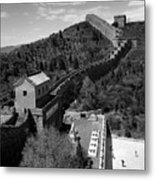 The Great Wall Of China Near Jinshanling Village, Beijing Metal Print