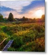 Nature Landscape Work Metal Print