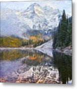 A Landscape Nature Metal Print
