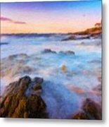 Painting Landscape Metal Print