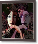 1258 - Stream Of Sadness 2017 Metal Print