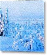 Landscape Paintings Canvas Prints Nature Art  Metal Print