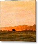 Oil Paintings Art Landscape Nature Metal Print