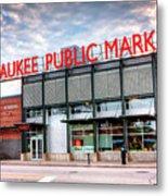 1275 Milwaukee Public Market Metal Print