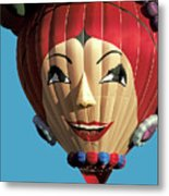 Carmen Miranda Balloon In Albuquerque Metal Print