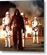 Empire Star Wars Poster Metal Print