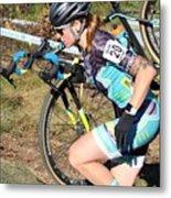 Fearless Femme Racing Metal Print