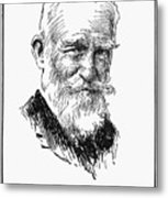 George Bernard Shaw Metal Print