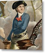 John Paul Jones, 1747-1792 Metal Print