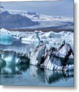 Jokulsarlon - Iceland Metal Print