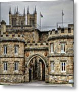 Lincoln England United Kingdom Uk Metal Print