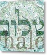 Shalom, Peace Metal Print