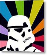 Star Wars Episode 2 Art Metal Print
