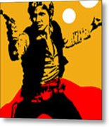 Star Wars Han Solo Collection Metal Print