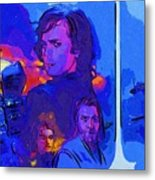 Trilogy Star Wars Art Metal Print