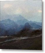 Nature Landscape Artwork Metal Print