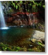 Nature Oil Painting Landscape Images Metal Print
