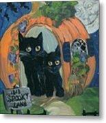 1313 Spooky Lane Metal Print