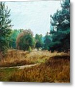 Nature Landscape Wall Art Metal Print