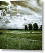 Landscape Oil Painting Nature Metal Print
