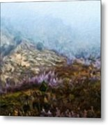 Oil Paintings Art Landscape Nature Metal Print