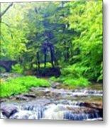 Nature Landscape Artwork Metal Print