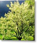 Oil Painting Landscape Pictures Metal Print