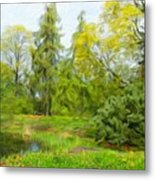 Landscape Nature Pictures Metal Print