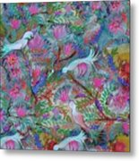 Birds Symphony Metal Print