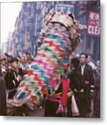 Chinese New Year 1963 Metal Print