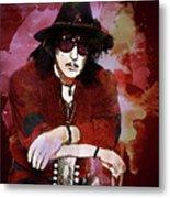 Deep Purple. Ritchie Blackmore. Metal Print