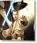 Empire Star Wars Poster Metal Print