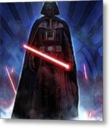 Episode 1 Star Wars Poster Metal Print