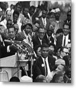 Martin Luther King, Jr Metal Print