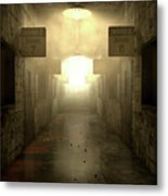 Mental Asylum Haunted Metal Print