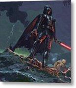 Star Wars Characters Art Metal Print